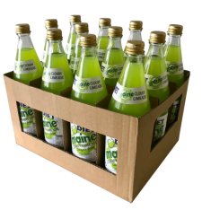 12 bottles of Diet Cloudy Lime from Maine Soft Drinks